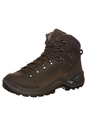 Lowa Renegade Gtx Mid Walking Boots Schiefer Aubergine Dark Brown