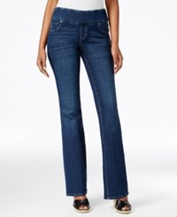 Styleandco. Style And Co. Petite Pull On Normandy Wash Flare Leg Jeans Only At Macy's