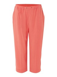 Tigi Cropped Trousers Red