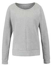 Esprit Sports Sweatshirt Middle Grey Melange