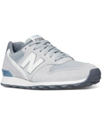 New Balance Women's 696 Summer Utility Casual Sneakers From Finish Line Silver Mink Icarus