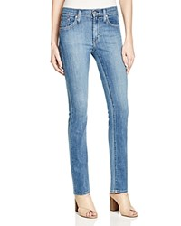James Jeans Petite Straight Jeans In Forever Blue
