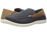 Crocs Santa Cruz 2 Luxe Navy Hazelnut Men's Sandals Blue