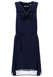 Naf Naf Ally Summer Dress Bleu Nuit Dark Blue