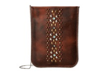 Leather Rock Cp60 Tobacco Cross Body Handbags Brown