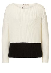 Betty Barclay Two Tone Jumper White