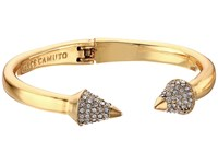Vince Camuto Pave Cone Hinged Cuff Bracelet Gold Crystal Bracelet