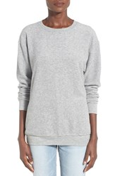 Junior Women's Project Social T Fleece Pullover Heathr Grey