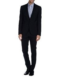 Les Hommes Suits And Jackets Suits Men Dark Blue