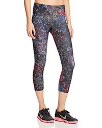 Onzie Printed Capri Leggings Night Bright