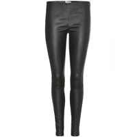Saint Laurent Skinny Leather Trousers Noir