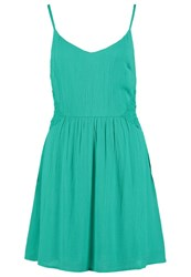 Evenandodd Summer Dress Green Light Green