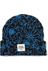 Opening Ceremony Scribbles Intarsia Knit Beanie