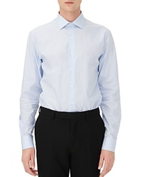 Sandro Business Slim Fit Button Down Shirt Sky Blue