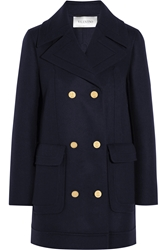 Valentino Wool Blend Peacoat
