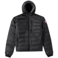 Canada Goose Lodge Hooded Jacket Black
