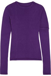 Jacquemus Wool Sweater Purple