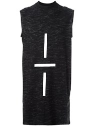 Odeur 'Graphic' Tank Black
