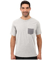 The North Face Recking Pocket Crew Tnf Light Grey Heather Men's Clothing Gray
