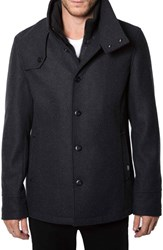 Men's 7 Diamonds 'Palma' Wool Blend Coat With Removable Liner