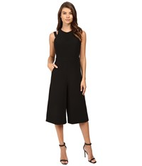 Adelyn Rae Halter Culotte Jumpsuit Black Women's Jumpsuit And Rompers One Piece