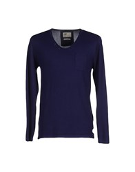 Red Soul Knitwear Jumpers Men Dark Blue