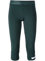 Adidas By Stella Mccartney Fitness Capris Green