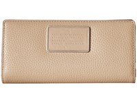 Marc By Marc Jacobs Ligero Small Leather Goods Tomoko Wallet Cameo Nude Wallet Handbags Beige