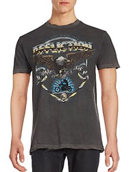 Affliction Eagle Graphic Sports Tee Black