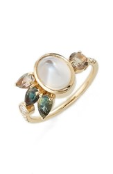 Women's Mociun Moonstone Cluster Ring Nordstrom Exclusive