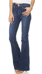 Frame Le High Flare Jeans Benedict Canyon