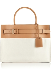 Reed Krakoff Rk40 Canvas And Leather Tote