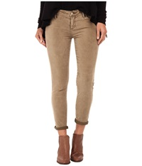 Free People Roller Crop Cord Olive Women's Jeans