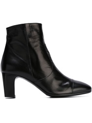 Laboratorigarbo Chunky Heel Ankle Boots Black