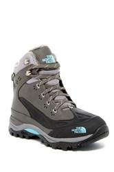 The North Face Chilkat Tech Gtx Faux Fur Lined Hiking Boot Gray