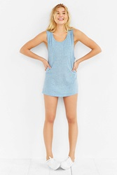 Bdg Speckled Boyfriend Tank Top Navy