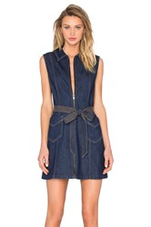 7 For All Mankind Denim Dress Saint Tropez