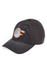 American Needle 'Baltimore Orioles Luther' Ball Cap Black