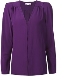 Stella Mccartney V Neck Shirt Pink And Purple