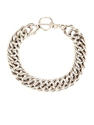 Saint Laurent Punk Gourmette Chain Link Choker