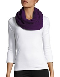 Lord And Taylor Cashmere Infinity Loop Scarf Mulberry