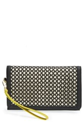 Big Buddha 'Dalton' Clutch Black