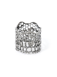 Aurelie Bidermann Silver Plated Vintage Lace Ring