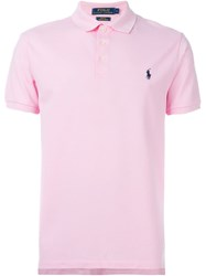 Polo Ralph Lauren Classic Polo Shirt Pink And Purple