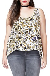 Rachel Roy Plus Size Women's Tie Back Tank