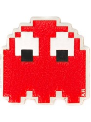 Anya Hindmarch 'Space Invaders' Sticker Red