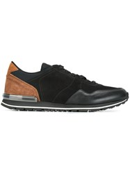 Tod's Panelled Sneakers Black