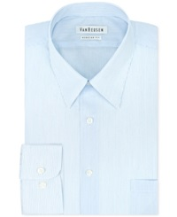 Van Heusen Big And Tall Glacier Fineline Stripe Dress Shirt