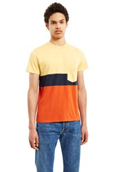 Levi's 1960'S Casual Stripe Tee Red Yellow Blue