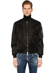 Dsquared Nylon Padded Bomber Jacket
